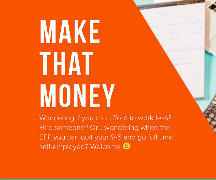 make that money freelance sole proprieter financial course shannon lee simmons millennial tax