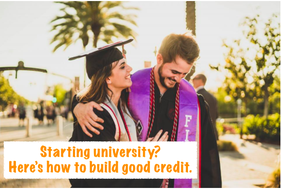 How to build good credit as a student